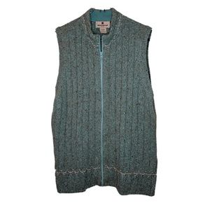 Woolrich | Vintage Aquamarine Wool Vest